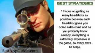 Sniper 3D Assassin: Shoot to Kill - Tips - Tricks - Strategies - Get Coins Easy - IOS - ANDROID !