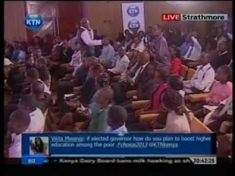 Nairobi gubernatorial debate at Strathmore University (Part C)