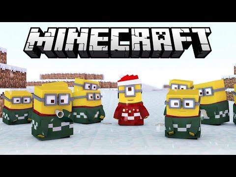 Minecraft Mod !! -Minions Terrorista ?? (Minions filme ) Think's Lab Minions Mod