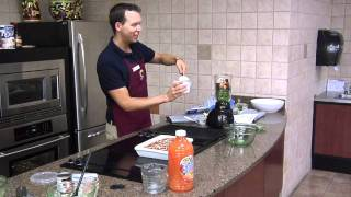 Celebrity Guest: Tyler Ramey, Ymca Healthy Living Director - Spinach & Berry Smoothie