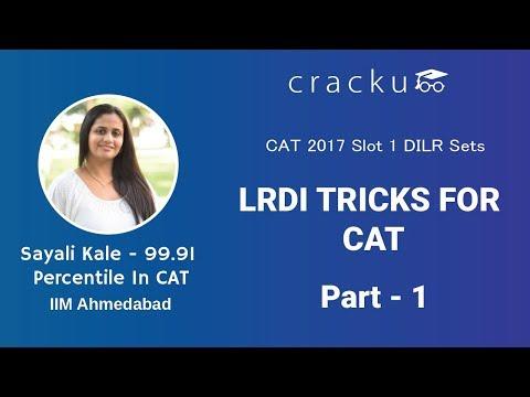 CAT 2017 Slot 1 - LRDI Sets (Detailed Explaination) - Part 1