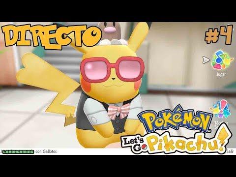 Pokémon Let's Go Pikachu! - Directo #4 - Español - Complementos Absurdos - Nintendo Switch thumbnail