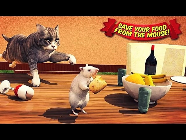 Angry Cat Vs. Mouse 2016 - Android Gameplay HD