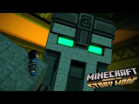 A SECRET AFTER CREDIT SCENE! - Minecraft Story Mode Season 2 : Episode 01 (3) Finale