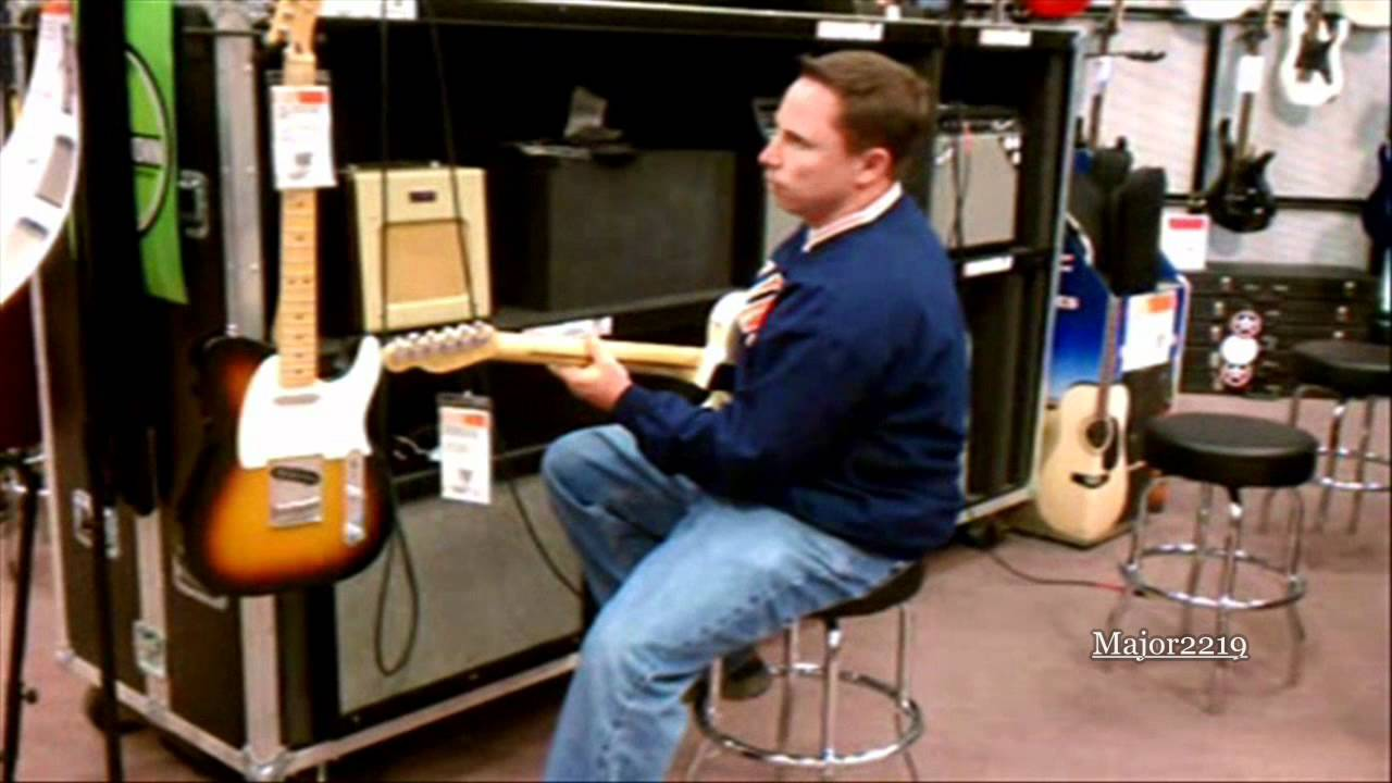 country guitar player at guitar center youtube. Black Bedroom Furniture Sets. Home Design Ideas