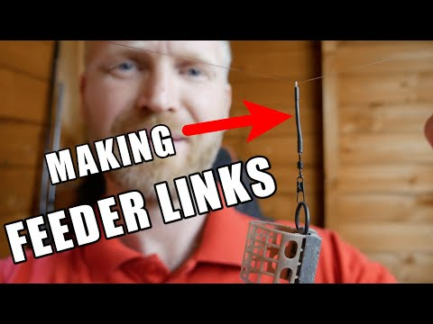 FEEDER FISHING - HOW TO MAKE FEEDER LINKS - WHY WE USE FEEDER LINKS PLUS THE BEST FEEDER RIG!!