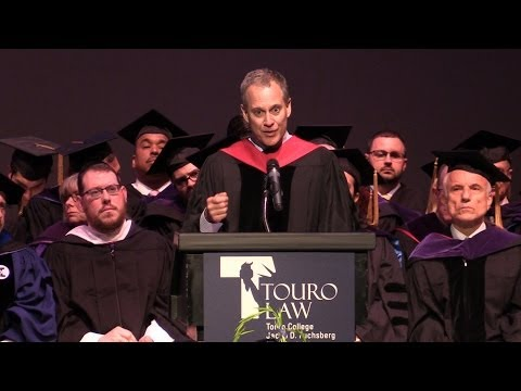 Commencement 2014 - Graduation Speaker  NYS Attorney General Eric Schneiderman