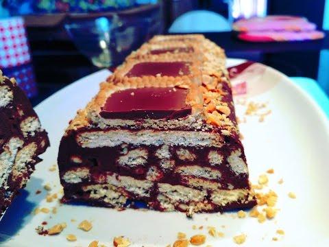 """gâteau-biscuit-""""type-petit-beurre"""",-chocolat-et-noisette/-recette-sans-cuisson,-rapide"""