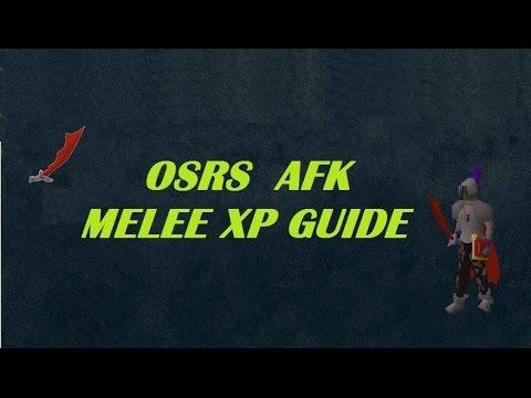 OSRS AFK melee combat guide (bandits)