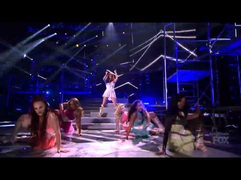 Jennifer Lopez (Feat Pitbull) - Live It Up (Live American Idol 2013)