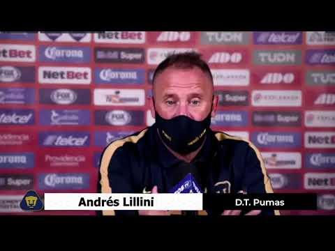 Pachuca 0 - 1 Pumas │ Andrés Lillini │ D.T. Pumas │Conferencia de Prensa │ 4TOS DE FINAL │ Guard1ane