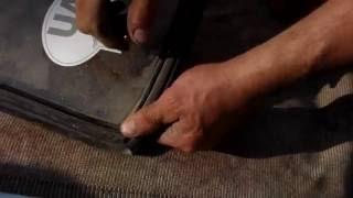 видео Замена переднего лобового заднего и боковых стекол ваз 2108