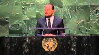 Leonardo DiCaprio's 2014 UN Climate Summit Speech