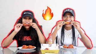 INSANE SPICY WING CHALLENGE!!!