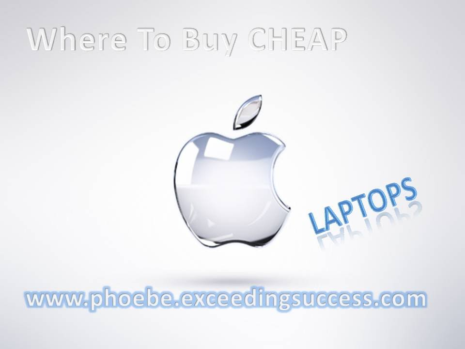 Where can I get cheap laptops?