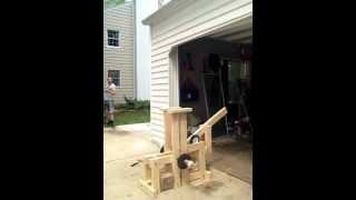 Floating Arm Trebuchet - 1 Meter Tall
