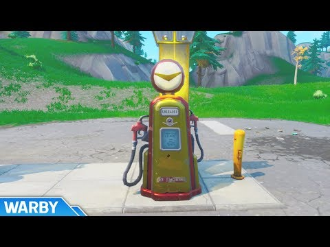 All Spray Gas Station Locations (Spray & Pray Mission) - Fortnite