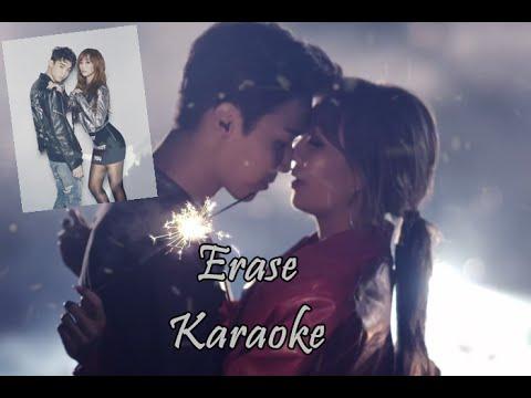 Hyorin X Jooyoung - Erase Karaoke (No Rap Part + With Backing Voice)