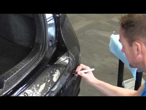 How to Install Rear Bumper Protector--Clear Paint Protection Film