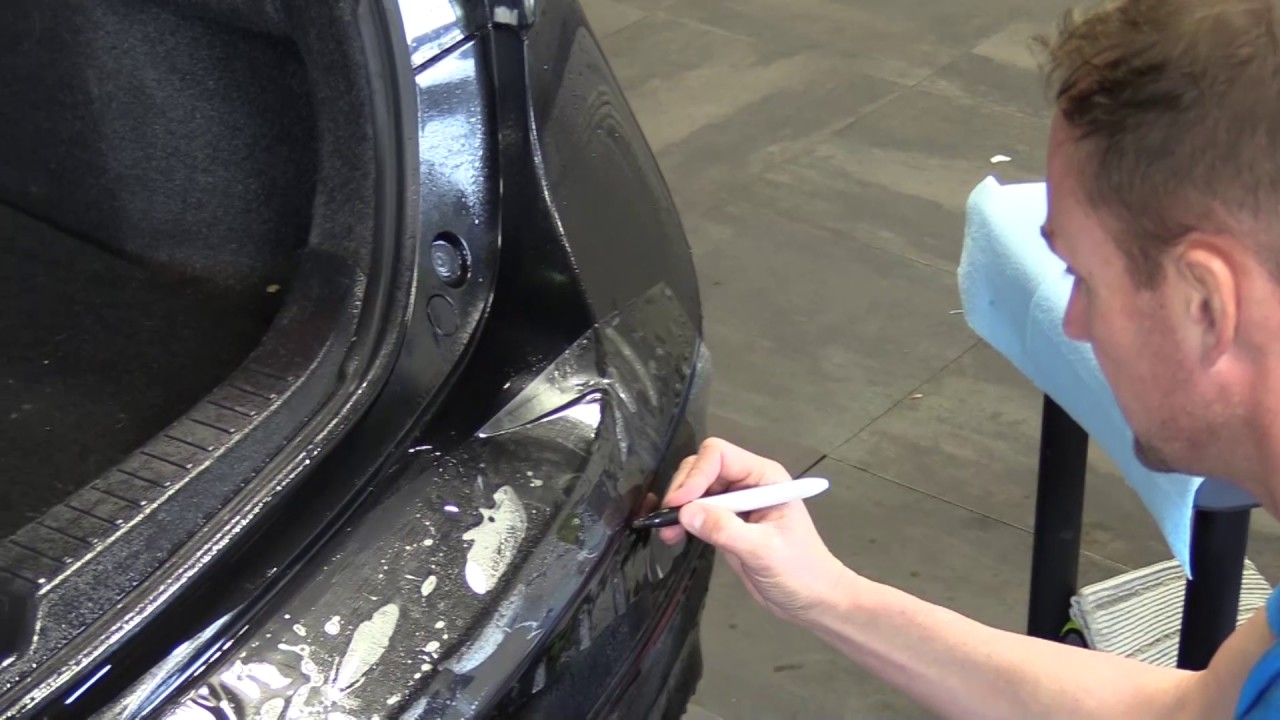 How To Install Rear Bumper Protector Clear Paint