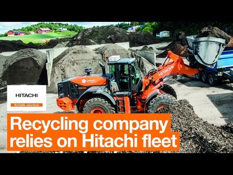 Hitachi fleet is ideal for recycling company Lindum