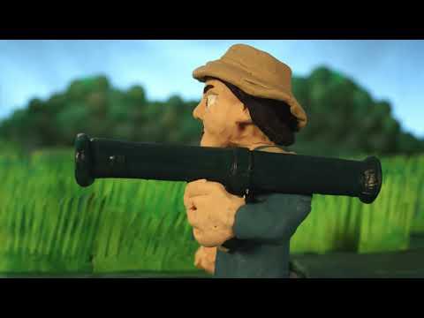 Vietnam War In Clay (action Film)