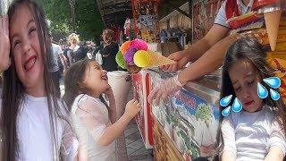 Duruya Dondurmacı Amca Saka Yaptı Dondurma Vermedi. Duru Çok Üzüldü. Funny Video