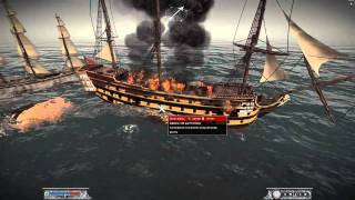 Napoleon Total War - Battle for Bristol Harbor - Naval Battle