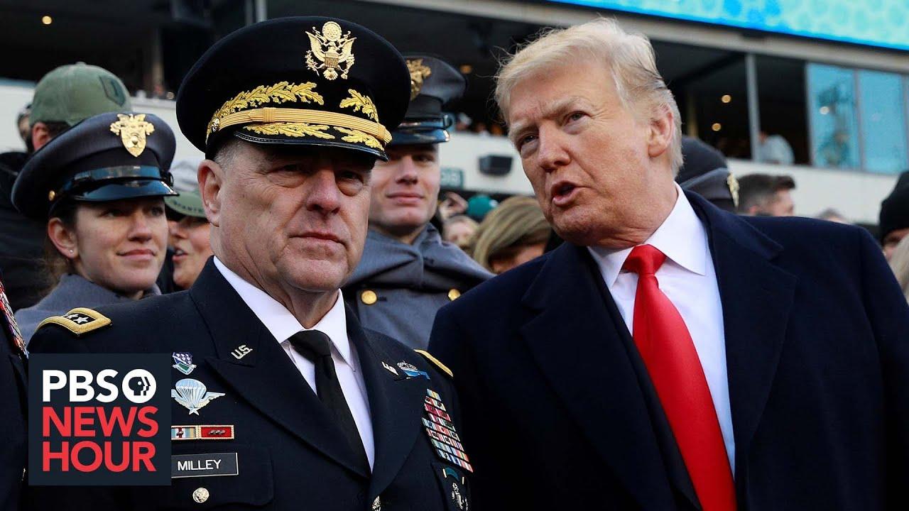 Trump, Republicans call Gen. Mark Milley 'treasonous' for calls with ...