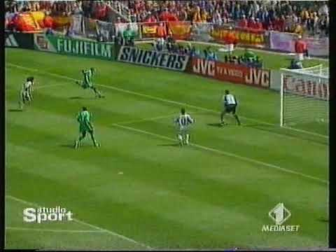 Mondiali 1998 Spagna-Nigeria 2-3 - World Cup 2002 Spain-Nigeria 2-3 highlights