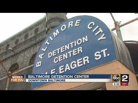 Looking inside the recently closed Baltimore City Detention Center