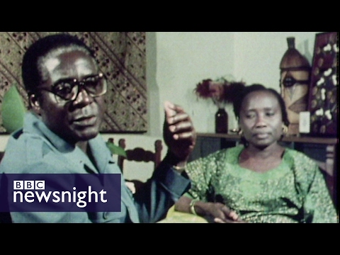 Robert Mugabe's 1980 victory in Zimbabwe -  Newsnight Archives (1980)