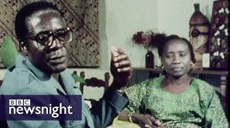 Robert Mugabe's 1980 victory in Zimbabwe -  Newsnight Archives (1980)