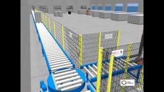 видео: 3D Визуализация работы склада