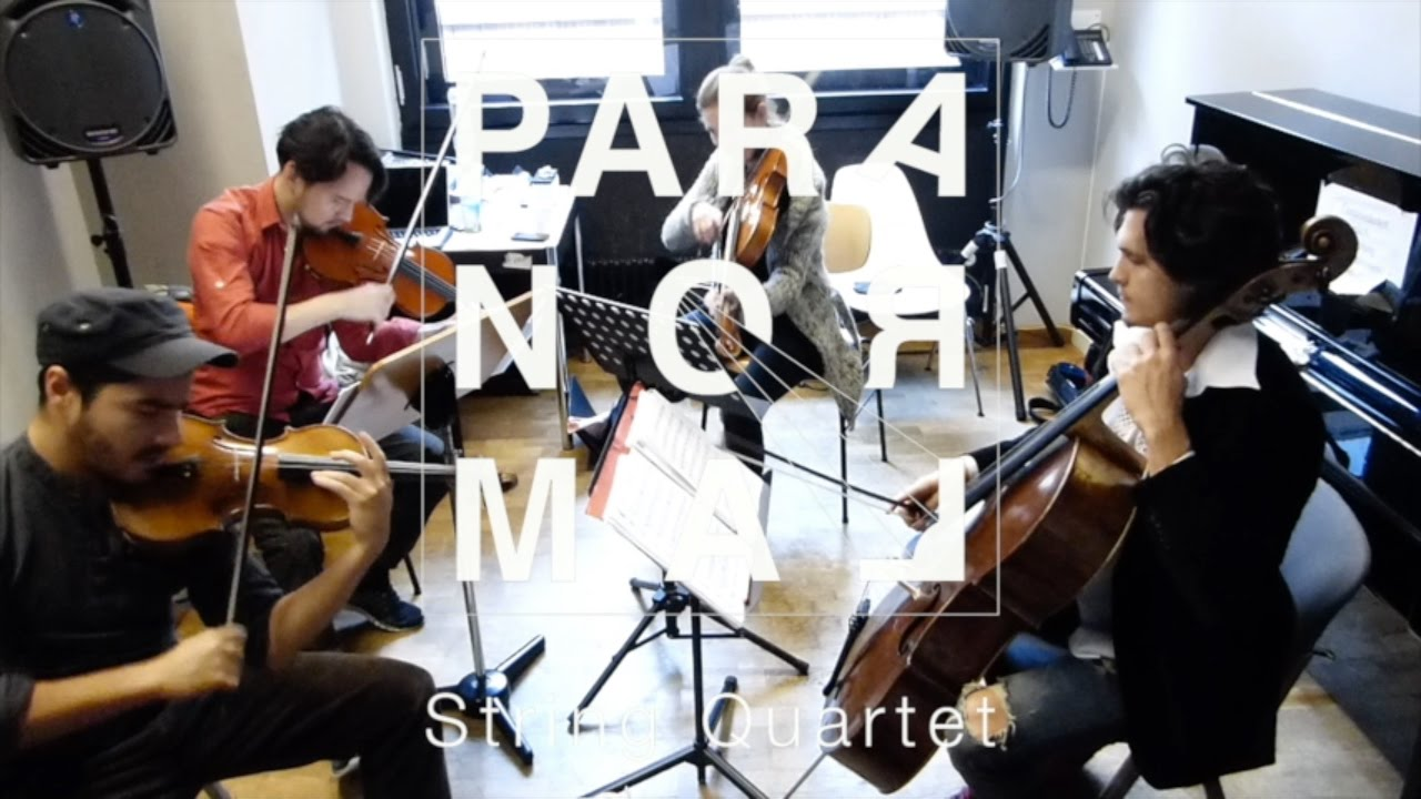 THE PARANORMAL STRING QUARTET // Concert Teaser May 2017
