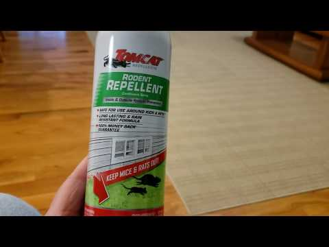 TOMCAT RODENT REPELLENT SPRAY IT REALLY WORKS.