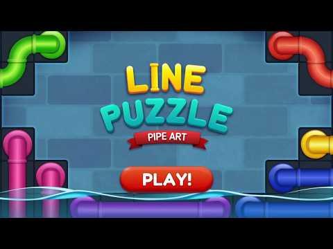 Line Puzzle: Pipe Art 1