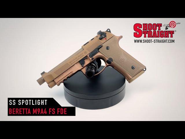 Beretta M9A4 G Full Size FDE 9mm - Shoot Straight Spotlight