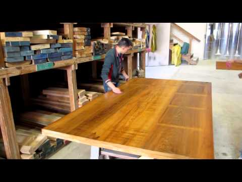 Water washing Antique Cypress Counter
