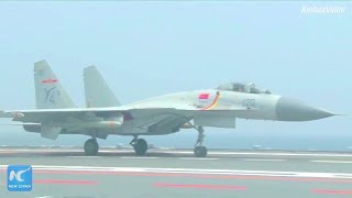 New China TV - Liaoning Aircraft Carrier Strike Group Conducts Transregional Training [1080p]
