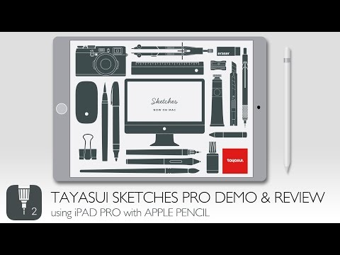Tayasui Sketches Pro Demo And Review