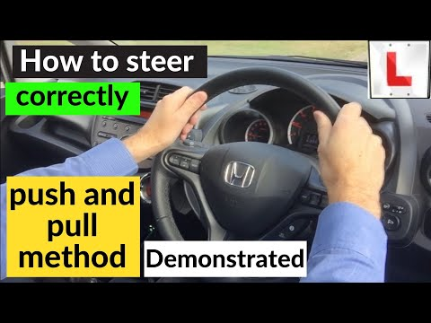 How to turn the steering wheel correctly