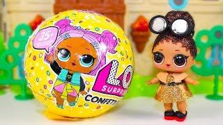 #Куклы ЛОЛ 3 серия 2 волна Видео для детей Мультик про Игрушки Пупсики LOL Surprise Dolls
