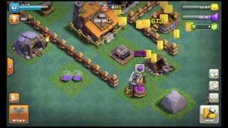 Clash of Clans - 02 Ubgradujem Builder Hall a menšie útoky ! CZ/SK Let's play