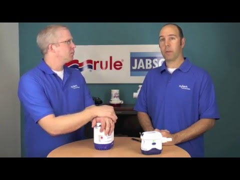 Cleaning a RuleMate Pump - YouTube