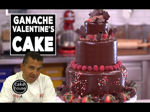 The Cake Boss makes the BEST Valentine's Cake with Ganache | Welcome to Cake Ep06