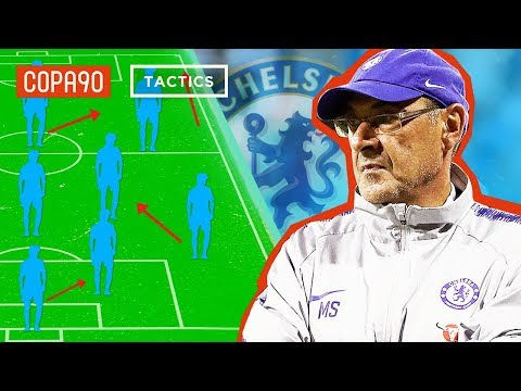The Managerial Masterclass Maurizio Sarri Will Bring To Chelsea | COPA90 & Top Eleven Tactics