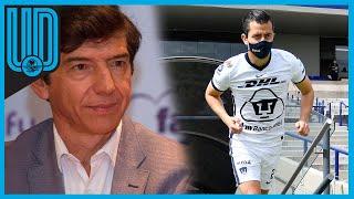 Para el exfutbolista de los Pumas, la Liga MX debe poner mano dura en los castigos a quien rompa los protocolos; critica el nombre de Guardianes 2021