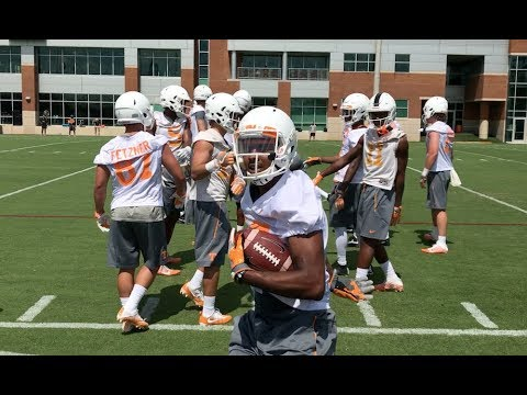 Tennessee Football Fall Practice | 7/29/17