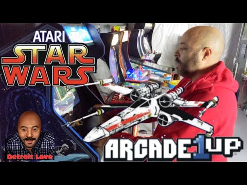 Arcade1UP Star Wars - Assembly & Thoughts from Detroit Love